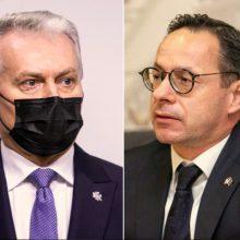 Ž. Pavilionis kritikuoja prezidentą: turėjo būti ne Šiauliuose, bet Tbilisyje