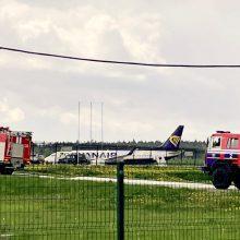 ICAO tirs keleivinio lainerio nutupdymą Baltarusijoje