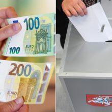 VRK grąžins pirmuosius Seimo rinkimų užstatus