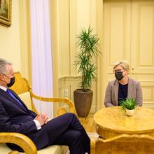 G. Nausėda su premjere aptars COVID-19 valdymą ir migrantų krizę