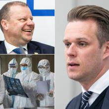 G. Landsbergis: Lietuva ruošiasi epidemijai, o premjeras atostogauja