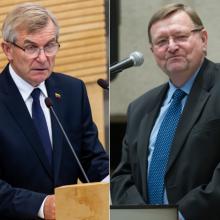 V. Pranckietis sako, kad neteiks J. Bernatonio kandidatūros į KT teisėjus