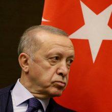 R. T. Erdoganas grasina išsiųsti 10 ambasadorių: Vakarai tariasi dėl reakcijos