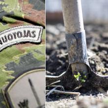 Panevėžietis nuosavo namo kieme iškasė karo laikų miną
