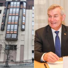 V. Pranckietis apie Seimo viešbučio pardavimą: negyvensime gi palapinėse