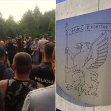 VSD: protestuose prieš migrantus nefiksuojama antivalstybinių grupių veiklos