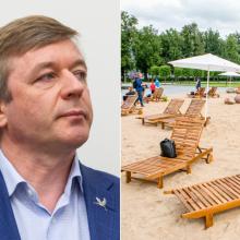 """""""Valstiečiai"""" dėl paplūdimio Lukiškėse skundžia Laisvės partiją VRK"""