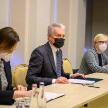 Pirmadienį rinksis Valstybės gynimo taryba: aptars situaciją Baltarusijoje