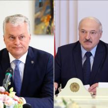 G. Nausėda ragina Baltarusiją užtikrinti laisvus rinkimus