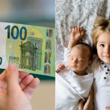 Seime – idėja gimus vaikui GPM neapmokestinti 10 tūkst. eurų tėvų pajamų