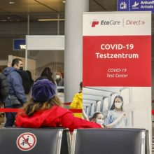 Vokietija atvers sienas pasiskiepijusiems keliautojams iš ES nepriklausančių šalių