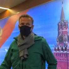 EP reikalauja nedelsiant paleisti A. Navalną ir sugriežtinti sankcijas Rusijai