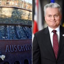 Prezidentas vyksta į Aušvicą pagerbti žydų aukų atminimo