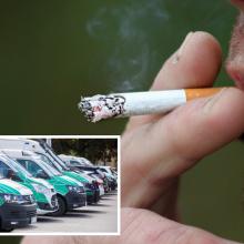 Ministrė: dėl rūkymo balkonuose pareigūnai įsikištų kraštutiniu atveju