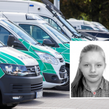 Sostinėje dingo keturiolikmetė mergaitė: policija prašo žmonių pagalbos