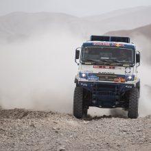 Žiūrovą pervažiavęs ir nurūkęs rusas diskvalifikuotas iš Dakaro ralio