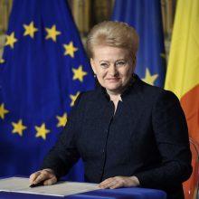 Svarbiausias ES postas gali atitekti moteriai: minima ir D. Grybauskaitė
