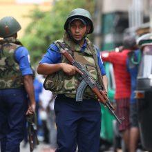 URM rekomenduoja susilaikyti nuo nebūtinų kelionių į Šri Lanką
