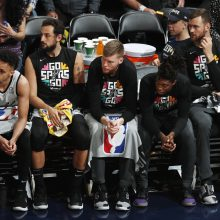 """Spurs"" su D. Motiejūnu nepateko į Vakarų konferencijos pusfinalį"