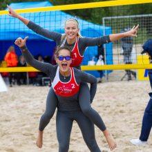 V.Vitkauskaitė ir U.Andriukaitytė - šiuo metu daugiausia pasaulio reitingo taškų surinkusios Lietuvos paplūdimio tinklininkės.