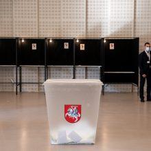 Renkami merai Kelmėje ir Trakuose: antrajame ture balsavo 26,11 proc. rinkėjų