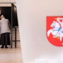 VRK: Kelmės ir Trakų rajonų merų rinkimuose aktyviausiai balsavo moterys