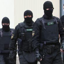 Pareigūnai kreipėsi į kolegas Baltarusijoje: prašo nutraukti smurtą prieš savo tautą