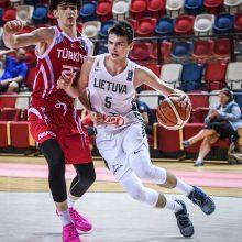 Lietuviai užtikrintai įveikė turkus ir Europos čempionate finišavo penkti