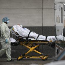 JAV per parą nuo koronaviruso infekcijos mirė 776 žmonės