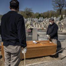 Ispanijoje – gąsdinantis viruso aukų skaičius: per parą mirė 838 žmonės