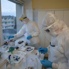 Per praėjusią parą patvirtinti 1493 nauji koronaviruso atvejai, mirė 25 žmonės