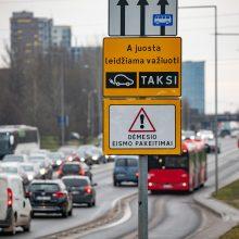 Viešasis transportas Vilniuje judės greičiau: Ukmergės gatvė – tik pradžia