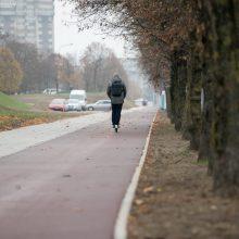 Justiniškėse nutiestas naujas dviračių ir pėsčiųjų takas