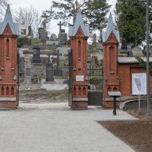 Istorinės Rasų kapinės pasiruošusios priimti sukilimo vadus