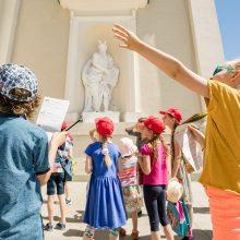Sostinė sieks įtraukti vaikus į viešąjį miesto kūrimą