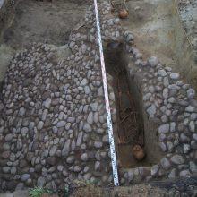 Gedimino kalno šlaituose rasta ir Vytauto laikų mūro liekanų