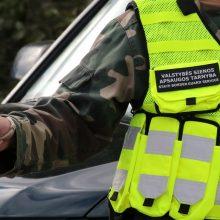 Pasieniečiams įkliuvo migrantą vežęs ukrainietis