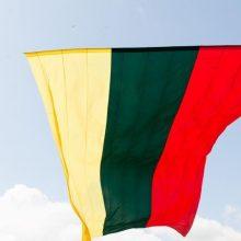 Marijampolėje išniekinta valstybinė vėliava