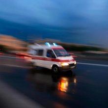 Pasvalio rajone apsivertus automobiliui sužalota keleivė: vairuotojas – neblaivus