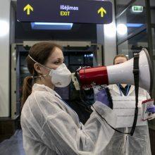 Vienas iš koronaviruso atvejų praėjusią parą – įvežtinis iš Jungtinės Karalystės