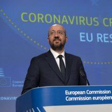 Europos Vadovų Tarybos pirmininkas Ch. Michelis šeštadienį vyksta į Beirutą