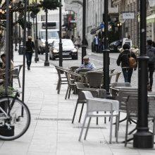 Gatves ir skverus atveriant lauko kavinėms – akibrokštas: plotus gauna tie, kuriems jų nereikia?