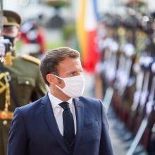E. Macronas: ES vienybė ir tvirtybė pasiteisino