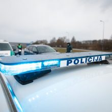 Sostinėje susidūrė du vilkikai: vairuotojas – ligoninėje, uždarytas eismas Titnago gatvėje