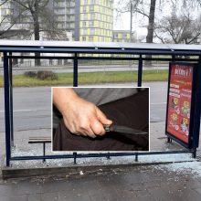 Kraupus išpuolis Vilniuje: viešojo transporto stotelėje peiliu sužaloti trys vyrai