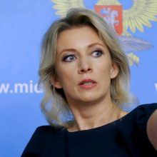 Maskva: Kijevas siekia jėga susigrąžinti Donbasą