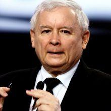 Lenkijos valdančiosios partijos lyderis prezidento rinkimų nori birželį