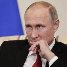 Kremlius: V. Putinas dalyvaus tarptautiniame viršūnių susitikime dėl klimato vaizdo ryšiu