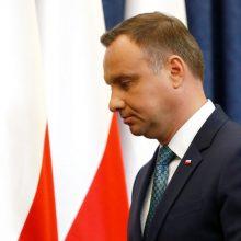 Lenkijos naujoji Aukščiausiojo Teismo pirmininkė kaltinama politiniu šališkumu