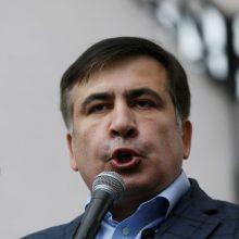 Sakartvelo valdančiųjų lyderis: M. Saakašvilis nebus paleistas į laisvę dėl bado streiko